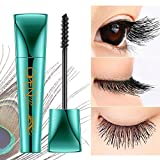 Pawaca 9 Ml Extra Long Lash Mascara,4D Peacock Mascara Extreme Black Natural Thick Waterproof Not Blooming