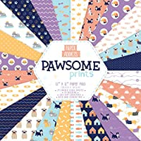 Papel – Paper addicts pawsome Prints 12 x 12