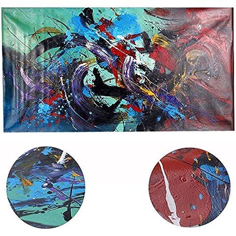 tysum (TM) senza cornice dipinto olio Set colorato elegante tela stampa decorazione per casa ufficio camera da letto soggiorno