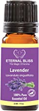 Eternal Bliss Lavender Essential Oil India(Lavandula angustifolia) 100% Pure & Natural/Therapeutic Grade Aromatic Oil, uncut Essential Oil (30ML)