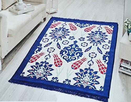 Babylon Multi Farbe Traditioneller Orientalischer Mitte Eastern Dekorative Wand & Boden Bereich Teppich Vintage Perser-Leicht 24x35 in Multi-12 -