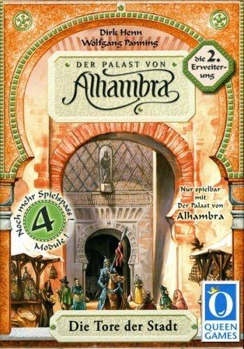 Preisvergleich Produktbild Der Palast von Alhambra. Die 2. Erweiterung: Die Tore der Stadt. Nur mit Alhambra spielbar. Für 2-6 Spieler