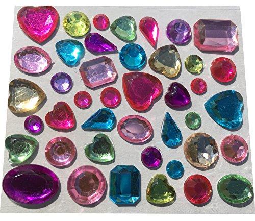129-stuck-verschiedene-glitzernde-strasssteine-selbstklebend-bunt-basteln-sticker-gltzersteine-schmu