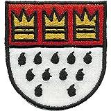 AUFNÄHER - Wappen - KÖLN - 00442 - Gr. ca. 5 x 5 cm - Patches Stick Applikation