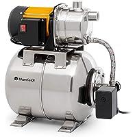 blumfeldt Liquidflow 1200 - INOX Pro Hauswasserwerk Gartenpumpe, Leistung: 1.200 Watt, Maximale Förderhöhe: 46 m…