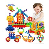 #9: 400pcs Multi-Color Thin Snowflakes Model Building Block Creative Educational Toy for Kids