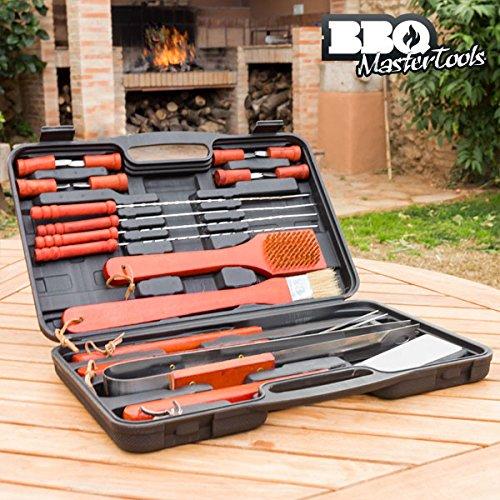 Valigetta Utensili Grigliata BBQ Master Tools (18 pezzi)