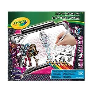 Crayola Light Up Tracing Pad Monster High Amazon Co Uk