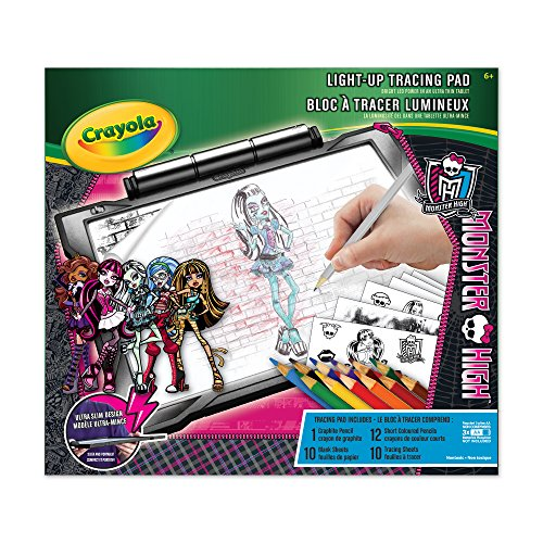 Image of Crayola Light, Up Tracing Pad, Monster High