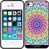 DesignedByIndependentArtists Coque Silicone pour Iphone 4/4S - G379 De Style Mehndi...