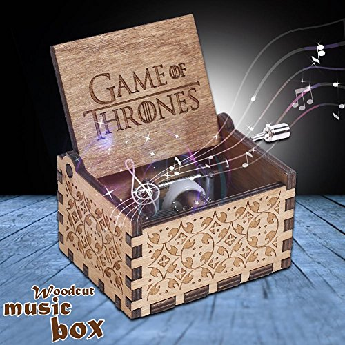 kingromargo Game of Thrones Carillon in Legno Carillon Crafts Kid i Regali di Natale