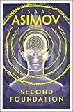 Front cover for the book Second Foundation by Isaac Asimov