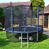 Cortez Premier 10ft Trampoline with Enclosure and Ladder