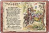 Geschenk Tagesmutter Kinderbetreuung Kinderkrippe Blechschild 30 x 20 cm