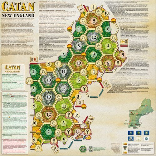 Catan: New England (Exp.) (engl.)