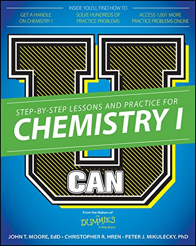 Download E Book For Kindle U Can Chemistry I Dummies By John T MooreChris HrenPeter J Mikulecky