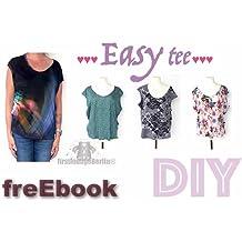 Easy tee free eBook Shirt in 7 Größen XS-L/XL GRATIS Schnittmuster & Nähanleitung [Download]