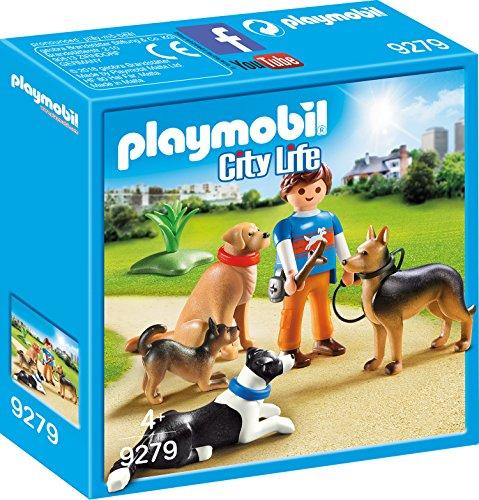 PLAYMOBIL 9279 - Hundetrainer Spiel (Collie Hund Figur)