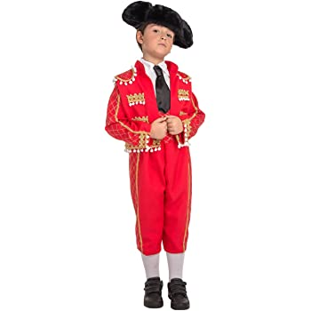 Carnevali torero T.L Bambino Costume Size from 8 to 10 Years  Amazon ... b937422a07c8