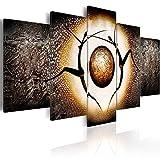 murando - Cuadro 200x100 - impresión de 5 Piezas en Material Tejido no Tejido - impresión artística - fotografía - Imagen gráfica - decoración de Pared - Personajes Cifras h-A-0015-b-m