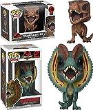 Funko POP! Jurassic Park: Tyrannosaurus Rex + Dilophosaurus - Vinyl Figure NEW
