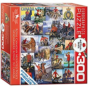 "EuroGraphics ""RCMP Collage Puzzle (300 Piezas, Multi-Color)"