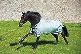 Horseware Rambo Original lite 100 g mit Beinausschnitt Regendecke Weidedecke grey (130)