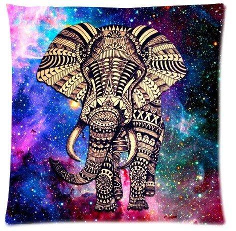 Square Tienda Pengflair Abstract Elefantes Fundas de Almohada Cojín 18 x cm...