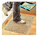 Magischer Teppich Fußabstreifer Fußmatte Clean Step Matte Mikrofaser Ultra-Sugfähig - Beige
