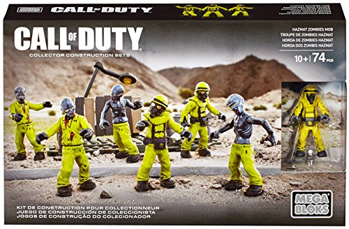 Mega Bloks - Call of Duty - Hazmat Zombies Mob - CNC70 - Mattel