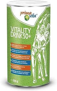 Primavita - Shake proteico 50+ per forza e vitalità, 500 g, 14 porzioni