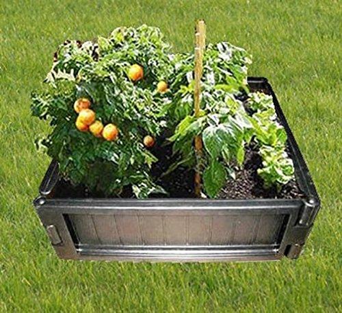 décoratifs Jardinière surélevée – Entretien – Carré de 70 cm