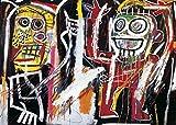 Jean-Michel Basquiat – Dustheads 1982 Poster Drucken (20,96 x 14,94 cm)
