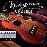 Magma Saite für Ukulele Hawaiian Tuning Brillianter Sound und sehr obertonreicher Klang<p><br>- Hawaiian Tuning: G, C, E, A<p><br>- Concert / Flat microwound<p><br>-