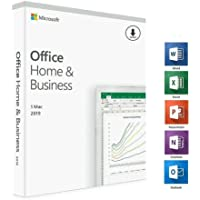 Microsoft Office Home and Business 2019, One-Time Purchase - Lifetime Validity, 1 Person, 1 PC or MAC (Activation Key…