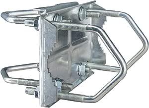 Premiumx Sat Doppel Kreuzschelle Mastbefestigung Elektronik