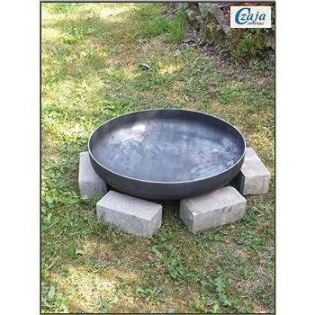 Klöpperboden Feuerschale Edelstahl Ø 800 mm Grillschale 80