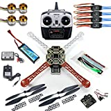 Qwinout DIY 8CH KK V2.3 F450 Frame RC Quadcopter 4-Axle UFO Unassembly Kit RTF/ARF Basic Drone by QWinOut