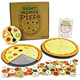 Sight Words Pizza Board Game, 120 Dolch & Fry Vocabulary Words for Reading & Spelling Readiness (1-4 players)