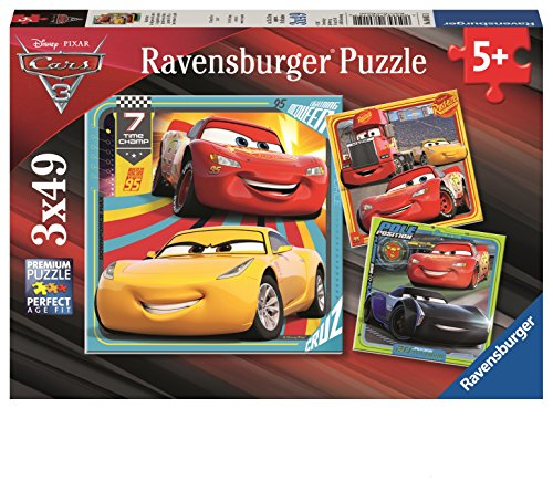 Ravensburger 08015 1 Puzzle-Bunte Flitzer