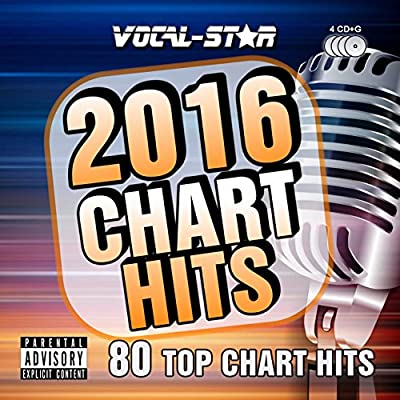 Karaoke 2016 Chart Hits CDG CD+G Disc Set - 80 Songs on 4 Discs Including The Best Ever Karaoke Tracks Of All Time (Adele, Coldplay, One Direction and much more) From Vocal-Star Karaoke