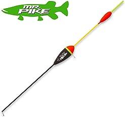 Quantum Mr Pike Zander Float - Raubfischpose zum Zanderangeln mit Köderfisch, Zanderpose zum Köderfischangeln, Angelpose