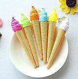 YiGo Gelstifte Eistüte, nachfüllbar Stift, 1 Zufällige Farbe