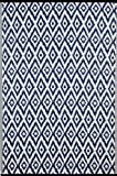 Green Decore Outdoor-Teppich Espero Blue, wendbar, leicht, Kunststoff, 90x 150 cm, Blau/Weiß