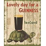 Guinness Schildkröte Nostalgisches Plakat/Poster