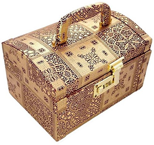 R S Jewels Handmade Wooden Womens Makup Box, Vanity Box, Jewellery Box