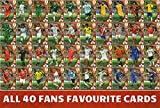 Adrenalyn XL FIFA World Cup 2018 – Full Set von Vierzig (40) Fans Favourite Karten – nummeriert # 361–400