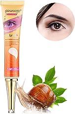 Eye Cream, leegoal Snail Eye Repair Cream for Dark Circles, Eye Bags, Puffiness, Fine Lines (30g)
