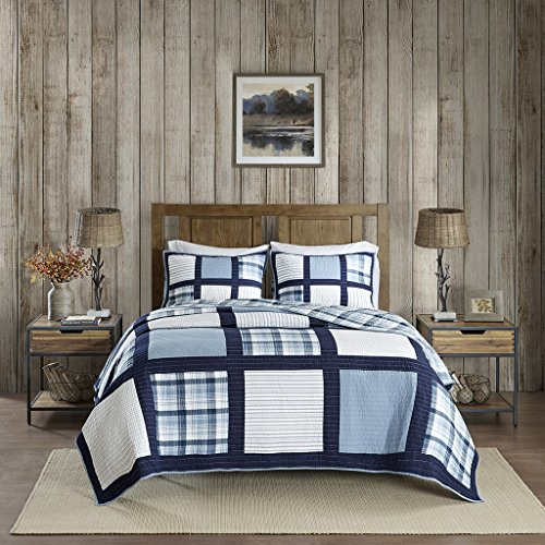 Woolrich Quilt Mini Set, Blue, Lime King