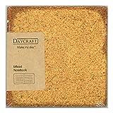 Daycraft N76 412-00 - Bread Notizbuch, Brot Deckenband, Tintenstrahlbedruckte Ränder, vollkorn